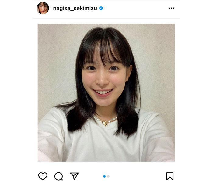 関水渚、12月初のインスタ更新で近況報告「お元気でしたか?」