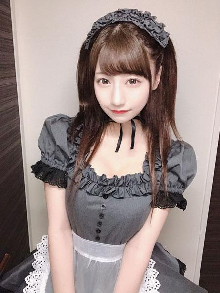 AKB48 鈴木優香、『可愛い』を追求したメイドコスプレに大反響!「チェキループしたい」