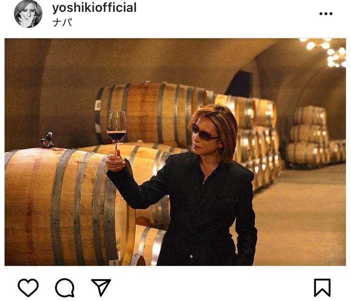 YOSHIKI、プロデュースする「Y by YOSHIKI」について「みんな飲んだ?!」