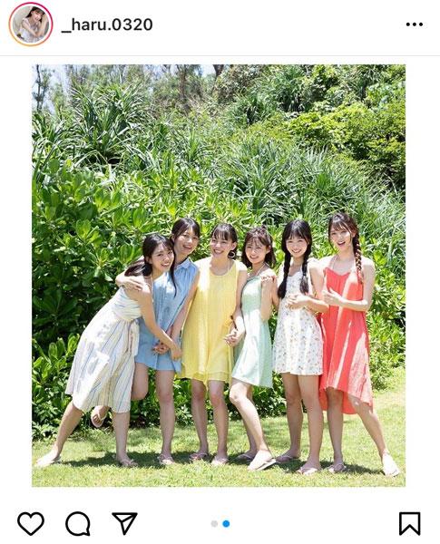 吉澤遥奈、「ミスマガジン2019」6名の沖縄集合写真を公開!「皆さんカワイイ」「やっぱり素敵な写真」
