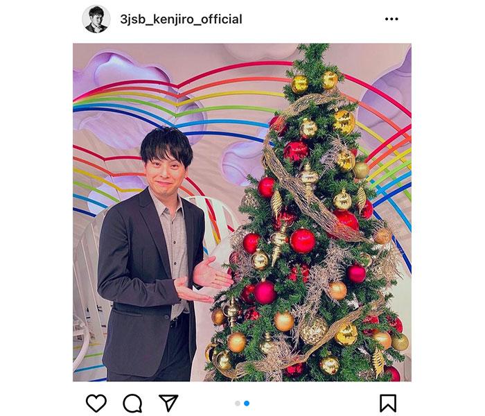 三代目JSB 山下健二郎、今年最後の『ZIP!』出演