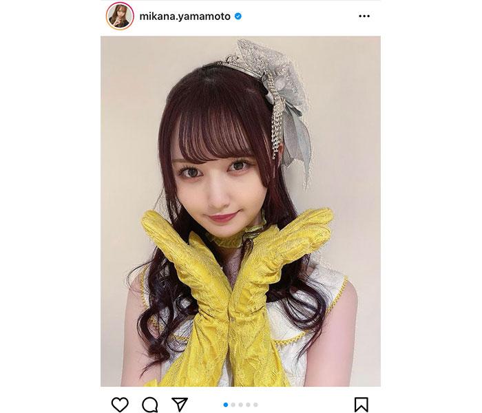 NMB48 山本望叶、人形のような顔立ちの『嘆きのフィギュア』衣装写真に反響!「フィギュア感満載」「素敵です」