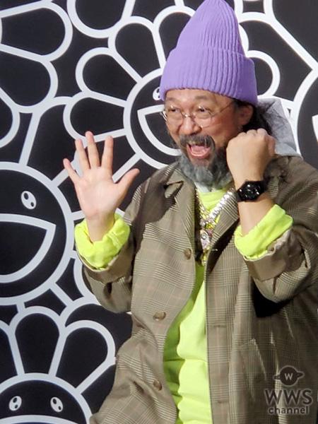 【動画】村上隆がスイス高級腕時計ブランド・HUBLOT(ウブロ)と限定コラボモデルをお披露目