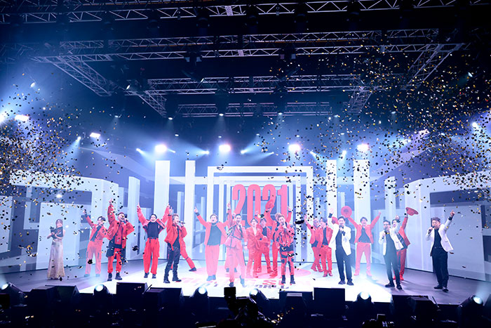"""大晦日にEXILE TRIBE総勢48名が集結!! LIVE×ONLINE COUNTDOWN2020→2021 『日本を元気に。そして、日本の元気で世界を元気に。』 """"RISING SUN TO THE WORLD""""幕開け!"""