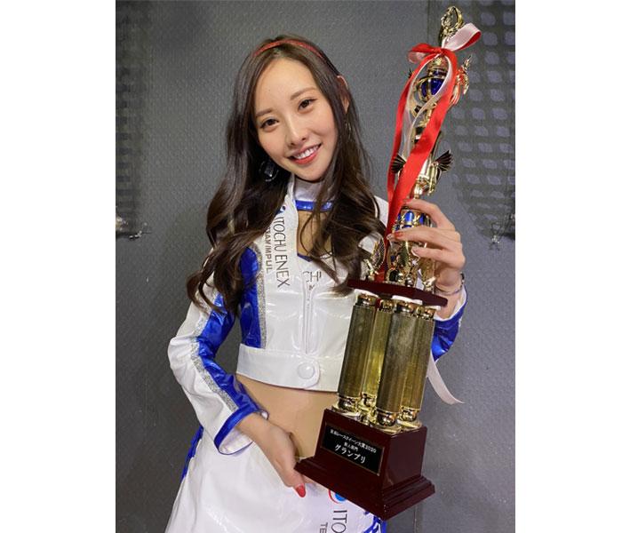 predia・あのん、日本レースクイーン大賞にて三冠を獲得!「沢山の方に、知っていただけるよう幅広く活動していきたい」