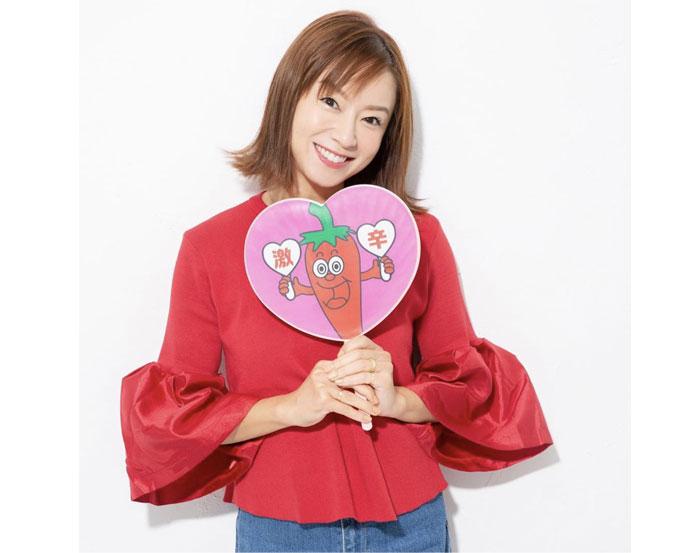 鈴木亜美がYouTubeチャンネル「あみーゴTV 」を開設、激辛がメインテーマ。