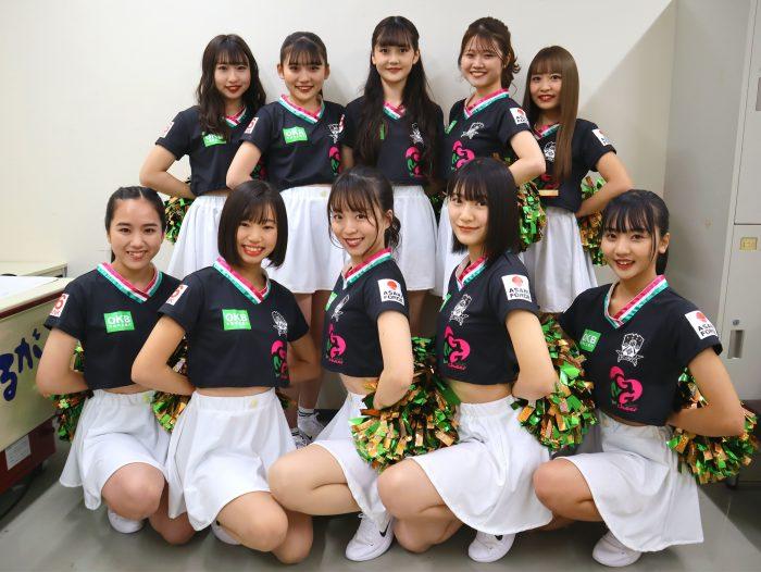 FC岐阜×avexによるプロフェッショナルチアダンスチーム『GGG』4期メンバー決定!
