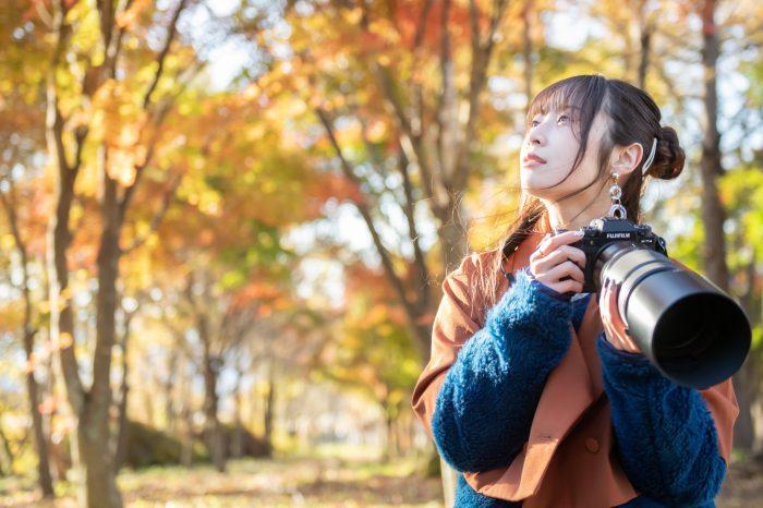 高柳明音、カメラ片手に本格的な野鳥撮影に初挑戦!「カメラ女子って恰好いい!」