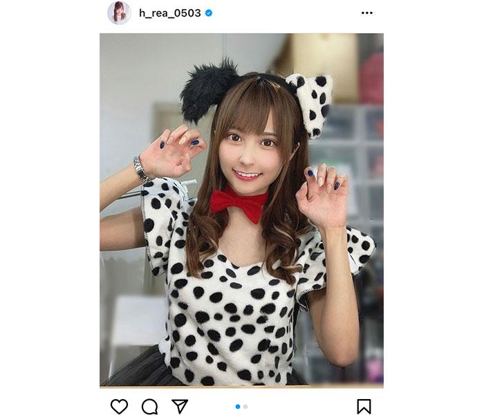 花咲れあ、「丑年」イメージの牛(?)コーデを披露!「モー烈かわいい!!」