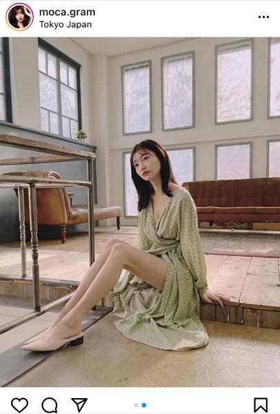 橋本萌花、大胆に魅せる美脚ショットに歓喜の声!「美脚すぎる」「癒やされる」