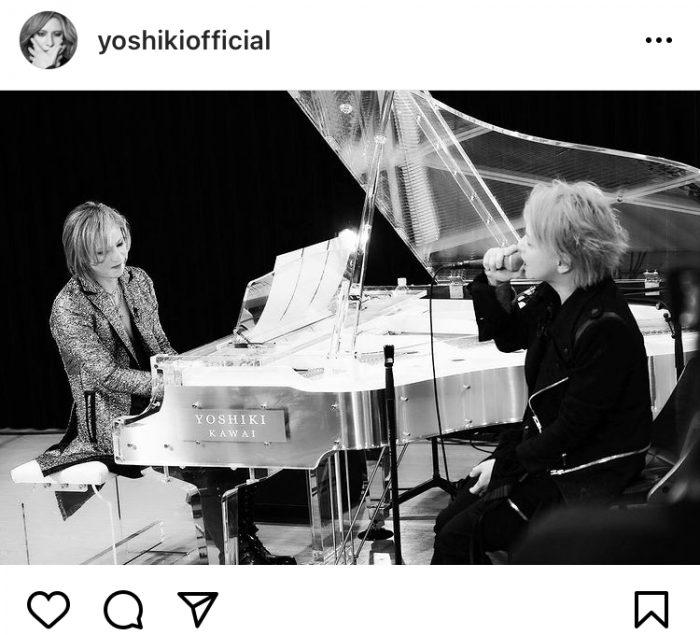 YOSHIKI、誕生日を迎えたHYDEへメッセージ「素敵な一年になりますように!」