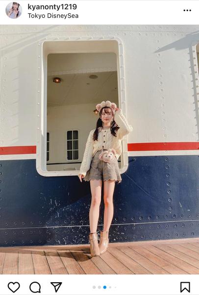 SKE48 石川花音、彼女感溢れるデートコーデ紹介!「一生観てられる」