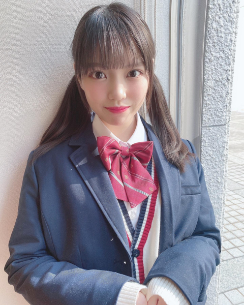 STU48 岩田陽菜、妄想膨らむ制服姿で恋愛シュミレーション!「アプリでリリースして欲しい」
