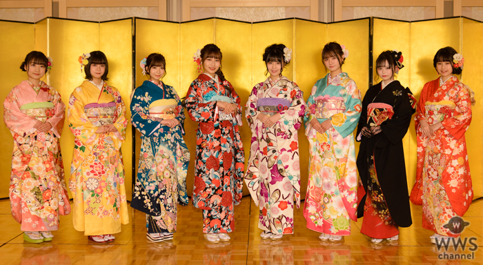 SKE48新成人メンバーが艶やかな振袖姿を披露「新しい風を起こしたい」