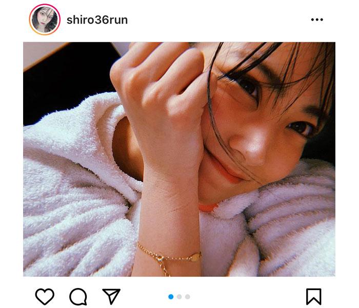 NMB48 白間美瑠、プライベートショットで感じる親近感!「とびきり生活感あって大好き」