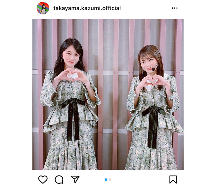 乃木坂46 高山一実、秋元真夏と『僕は僕を好きになる』新衣装で2ショット!