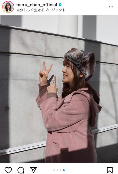 HKT48 田島芽瑠、21歳の抱負は「『自分らしさ』を忘れずに」