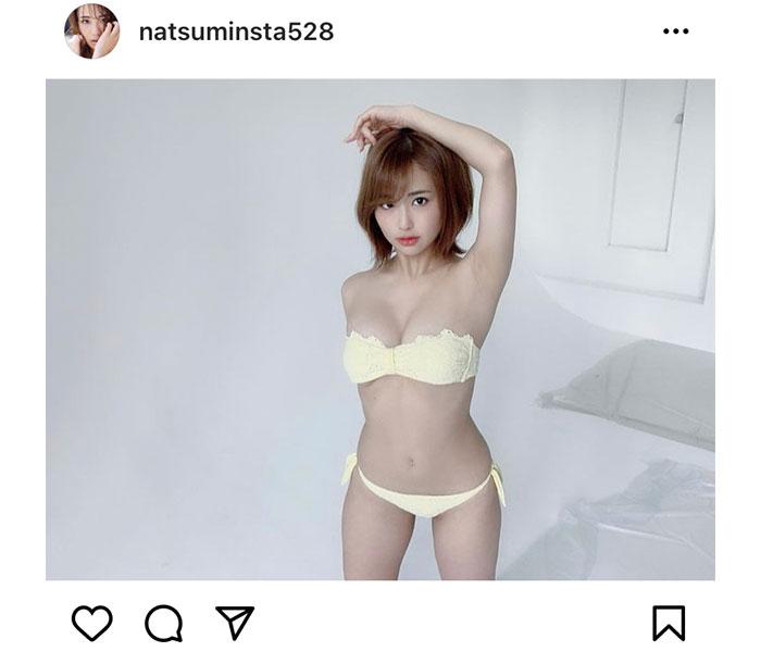 平嶋夏海、2021年も親近感ボディで魅了!