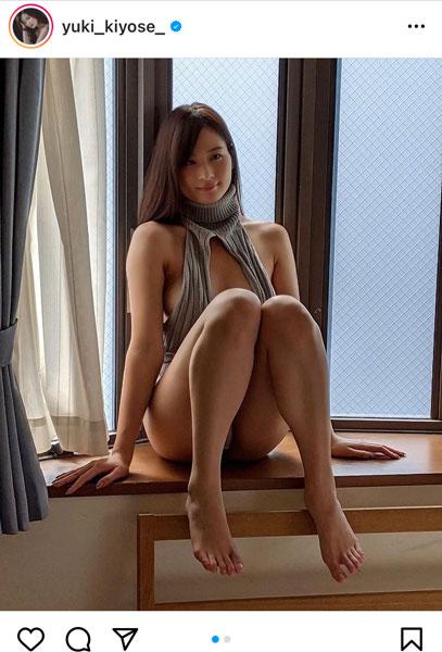 清瀬汐希、曲線美で魅せるバックショットに反響!「最高すぎます」