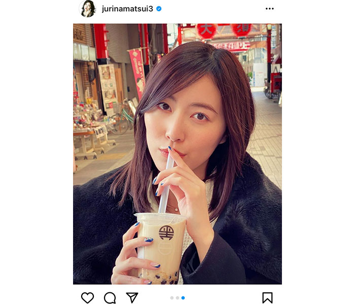 SKE48 松井珠理奈、大須商店街の写真と共に心境コメント