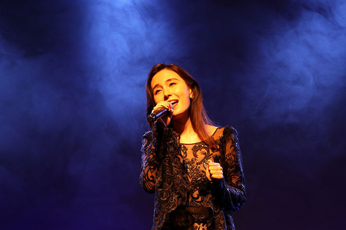 May J. 、「WEIBO」アワードで女性グッドシンガー賞を受賞!「中国でコンサートができるように頑張ります!」