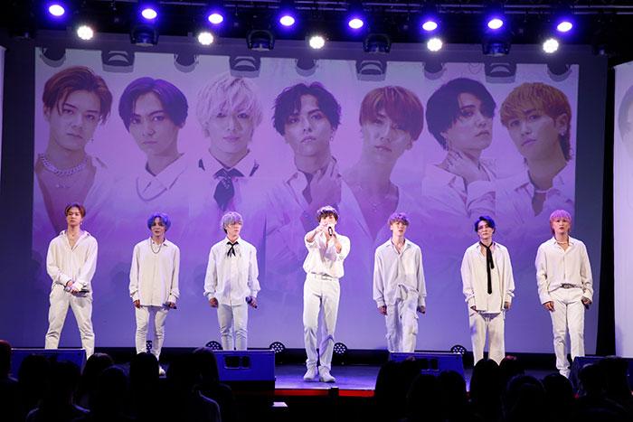 7人組ダンス&ボーカルグループ・ONE HUNDRED LIMINAL初ライブ開催!!