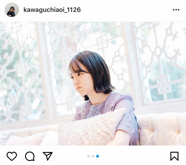 川口葵、恋とオオカミには騙されないの撮影シーンを公開!「なんやこの透明感」