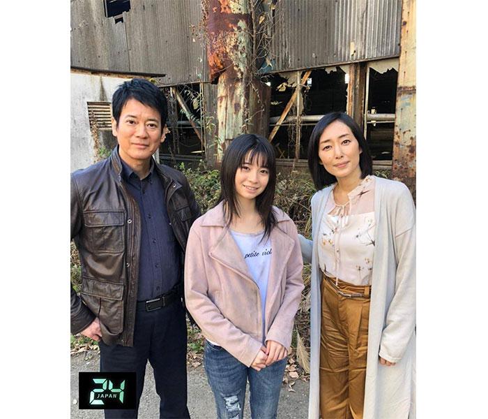 """唐沢寿明主演『24 JAPAN』、""""24の日""""にアメブロ開設!""""獅堂ファミリー""""のオフショットも披露"""