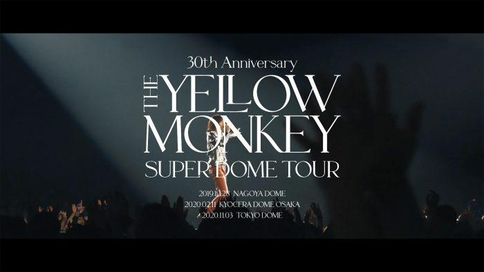 THE YELLOW MONKEY、20年ぶりのライブ・アルバム『Live Loud』リリース記念でスマートニュース特別編集映像が公開に