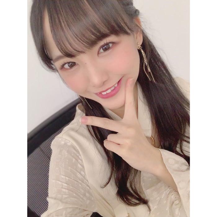 STU48の福田朱里が可愛い八重歯をアピール!「八重歯大好き」