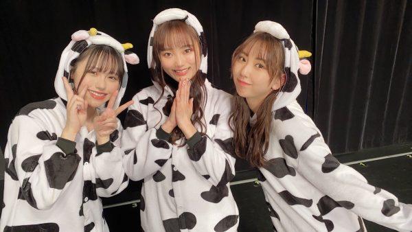 "SKE48 熊崎晴香、年女メンバーと""牛""コスプレでリベンジのステージ!「モ~可愛すぎ~」"