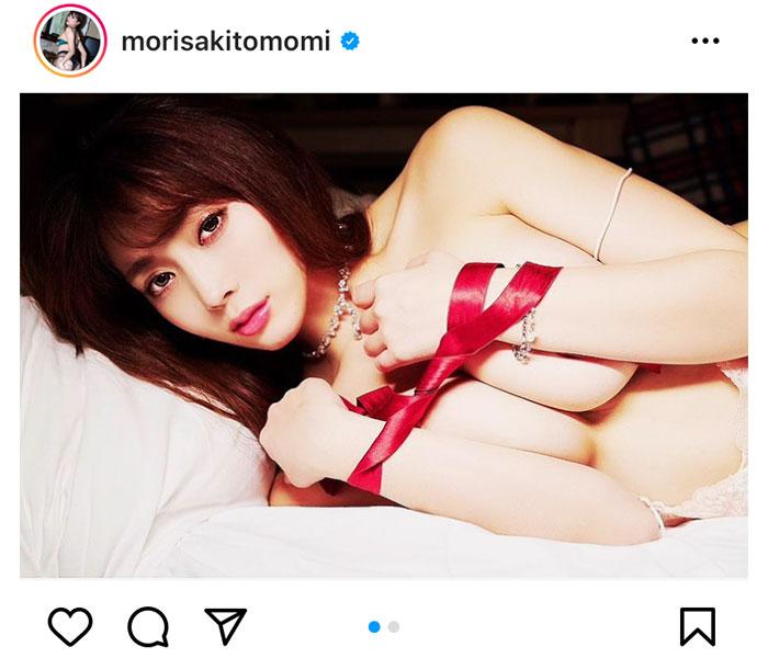 """森咲智美、チョコより嬉しい""""えちえち""""なバレンタイングラビアに歓喜!"""