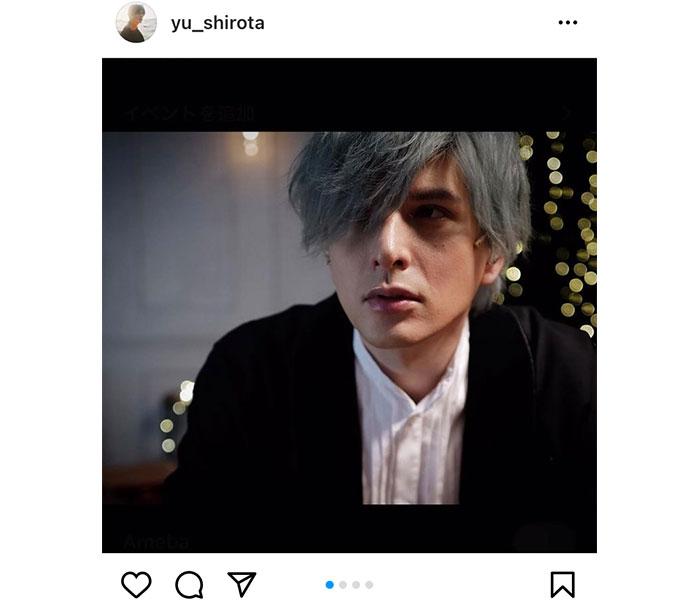 城田優の銀髪姿にファン歓喜!「とてもとても素敵でお似合い」「ミステリアスな雰囲気もありますね」