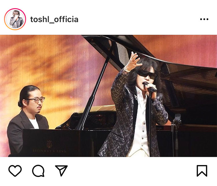 Toshl、「題名のない音楽会」の放送2700回記念の特別プログラムに出演!