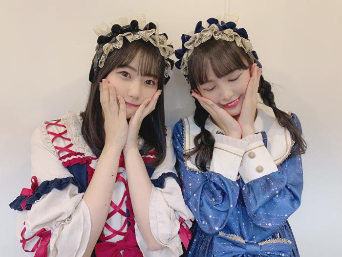 STU48 瀧野由美子、福田朱里と「たきふく」コンビでロリータ2ショット!