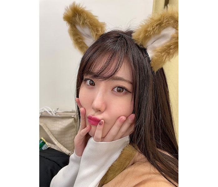 "SKE48 谷真理佳がロケで犬のコスプレ披露!""お手""のポーズに「可愛さの限界超えた」"