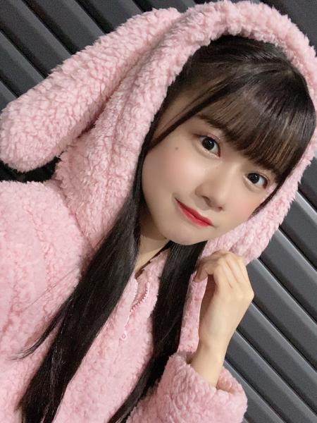SKE48 田辺美月、うさぎ耳の秘蔵パーカーショットが可愛すぎる!