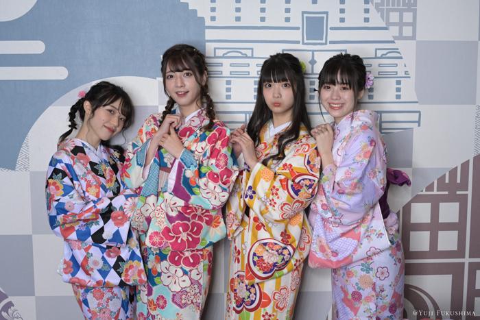夢みるアドレセンス×福島裕二による最新写真展は着物姿を撮り下ろしを加えた「4人展」