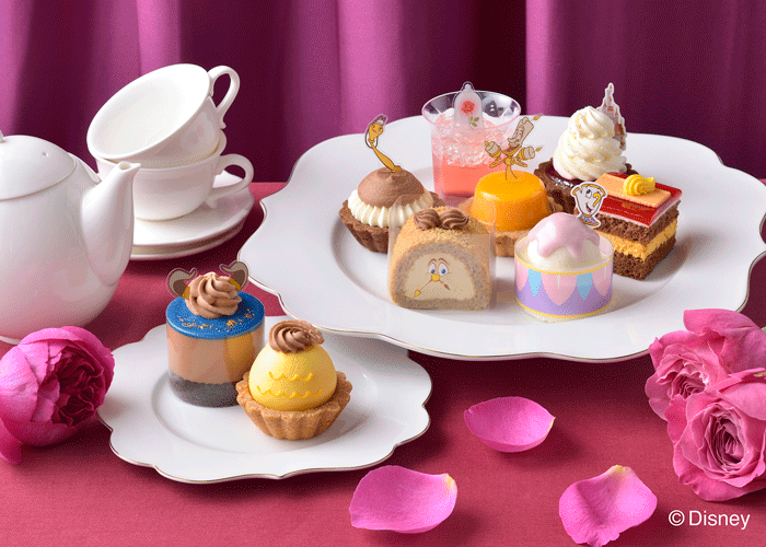 ≪銀座コージーコーナー≫プチケーキ「美女と野獣」コレクションが登場!
