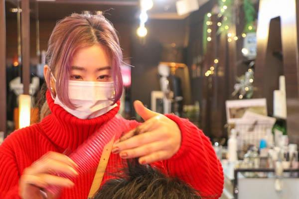 marpa marpa marpaのスタイリストRei「お客様から直接「ありがとう」と言ってもらえるような仕事に就きたくて美容師になった。」