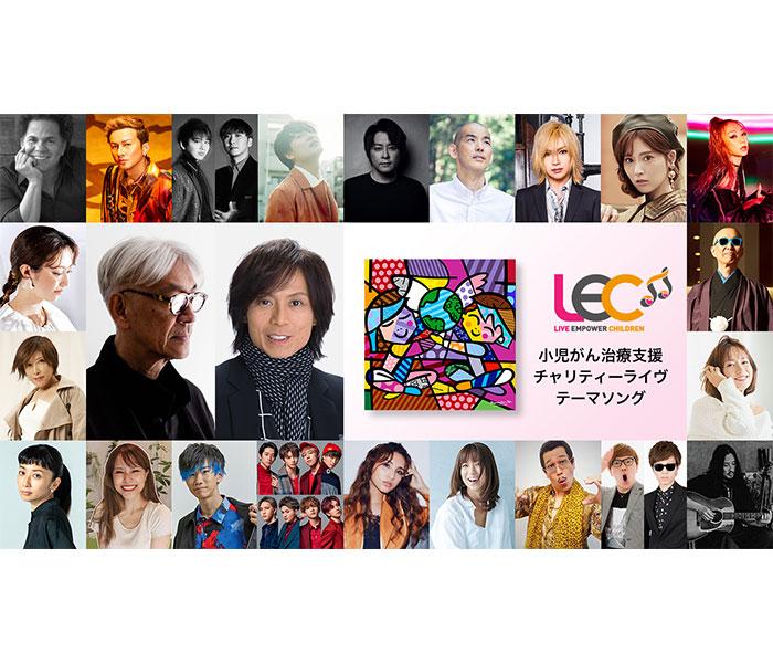 坂本龍一とつんく♂が初コラボでチャリティーソング制作!「子供が、未来を作ります」