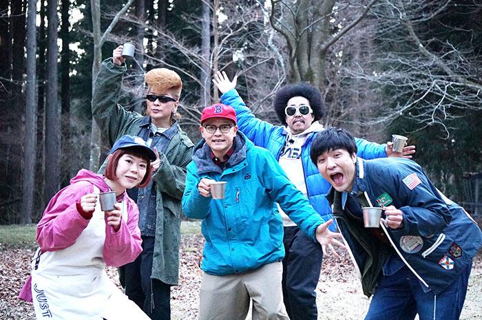 WOWOW × CAMP HACK「CAMP TV」に綾小路 翔とDJみそしるとMCごはんの出演が決定!