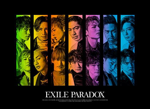 デビュー20周年を迎えるEXILE、3月28日より「PARADOX」の先行配信スタート!最新ビジュアルも公開!さらにMusic Videoの解禁も決定!!