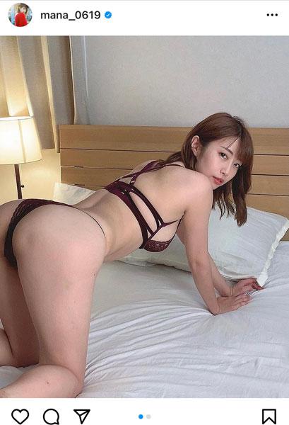 古川真奈美、美尻を大胆披露のバックショットで魅惑!「色気にやられそう」