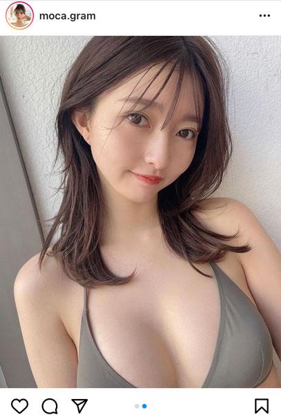 橋本萌花、ふんわり美乳で魅了するビキニオフショット!