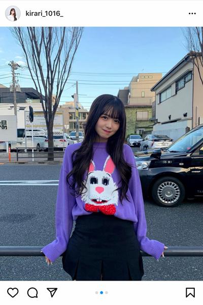 天使すぎる小悪魔・Kirariが彼女感あふれるポートレートを披露!「今日も今日とてお顔が優勝」