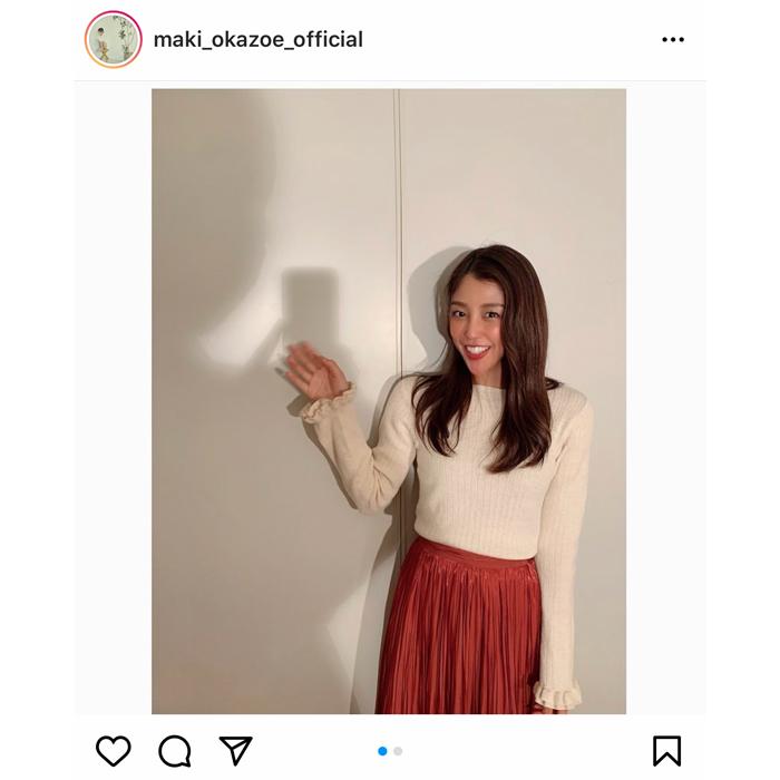 岡副麻希アナ、影を使った斬新なツーショットを公開!「影でもいいからツーショしたい」