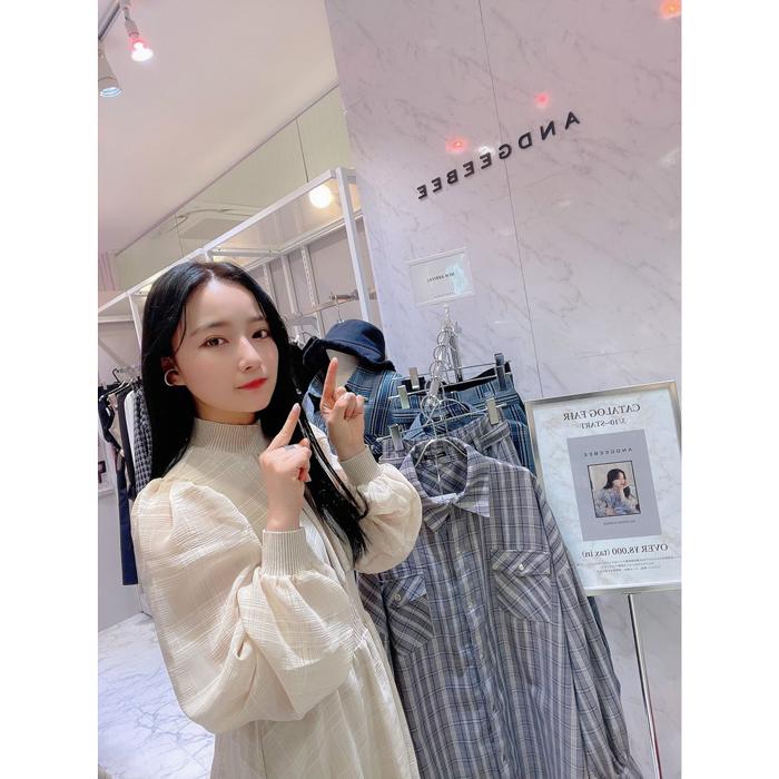 元NMB48 村瀬紗英、プロデュースブランドのポップアップイベントに登場!「紗英ちゃん可愛い」