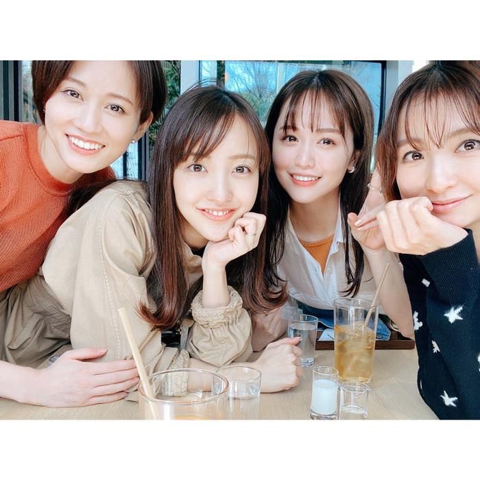 ゆうこす、前田敦子・篠田麻里子・板野友美と4ショット公開!「神メンバーすぎ」