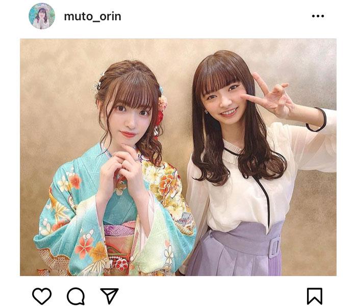 武藤小麟、武藤十夢との美人姉妹2ショットを公開!「ほんとに可愛くて愛おしい」